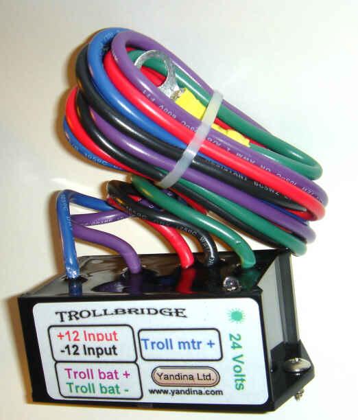 Wiring a 24v trolling motor